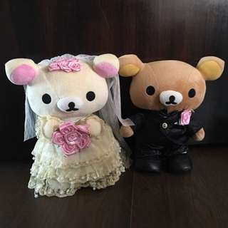 Authentic Rilakkuma Wedding Couple