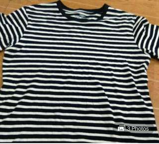SM YOUTH CULTURE STRIPES T-SHIRT