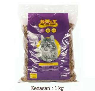 Bolt cat food kemasan 1kg