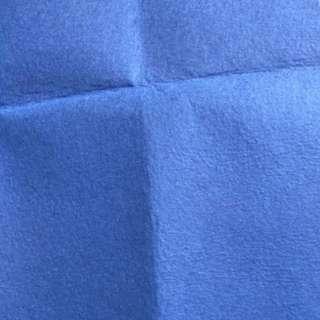 Blue felt - 1 METER