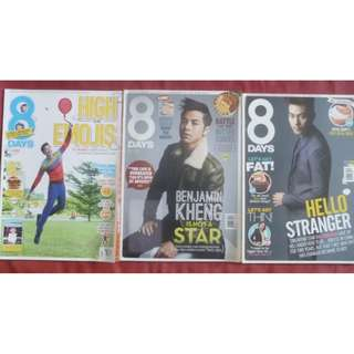 8 days Magazine benjamin kheng romeo tan dai xiang yu tcs mediacorp male artist