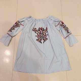 Inspired Zara off shoulder dress