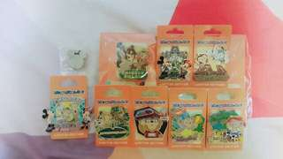 HKDL Pin Hunting Pins 一套