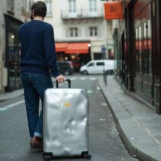 🚚 CRASH suitcase 時尚藝術行李箱