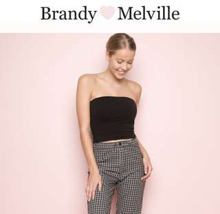 Brandy Melville tube top