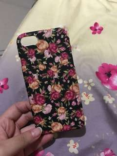 Iphone 7 Floral Casing