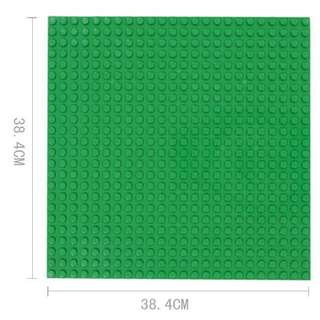 compatible base plate for LEGO duplo(38.4*38.4cm) Blue 、green 、light green