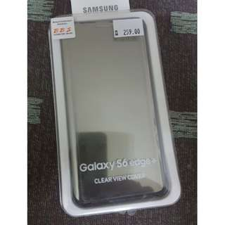 Samsung S6 Edge + Plus Clear View COVER - Price Revised