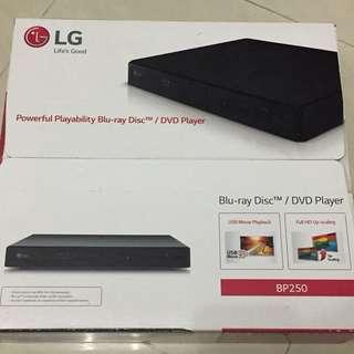 LG Blu-ray Disc DVD Player 藍光碟機 BP250