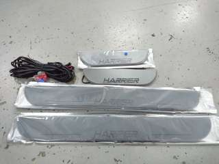Toyota harrier led scuff plate