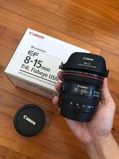 Canon 8-15mm f4
