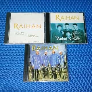 🆒 Combo Raihan CD Single/E.P./Sampler Melayu Audio CD