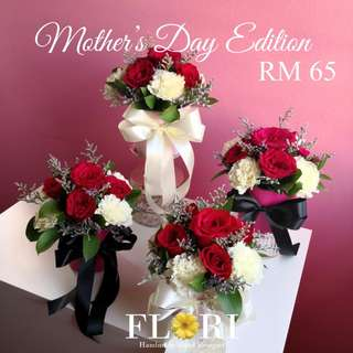 Mother's Day! Fresh Flower Bouquet in Pots