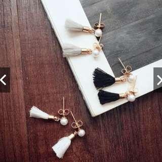 *FREE MAILING*INSTOCKS*Korean Tassel Earrings