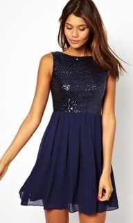 Asos TFNC sequin dress