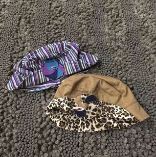 BOTH FOR RM8 Little girl cap