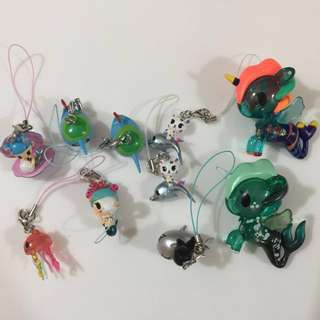 Tokidoki Sea Punk Frenzies / Mermicornos