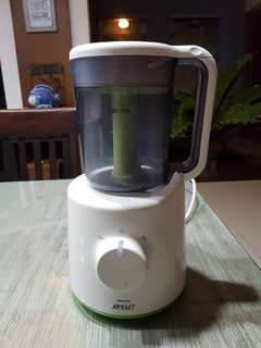 Avent 2in1 steamer and blender