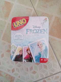 UNO Disney Frozen Card Game