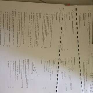 Other JCs A Level H2 math practice papers