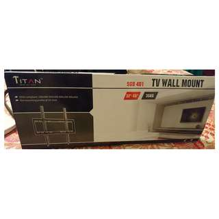 """Titan TV mount, brand new, for 32-55"""" screen, up to 35 kg"""