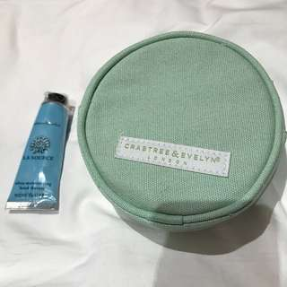Crabtree & Evelyn pouch