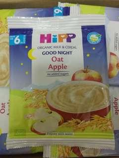 Hipp Organic Milk & Cereal喜寶晚安奶糊 燕麥蘋果味