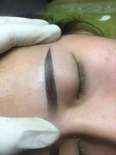 3D eyebrow embroidery-collagen