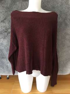 Free People Off the Shoulder Sweater
