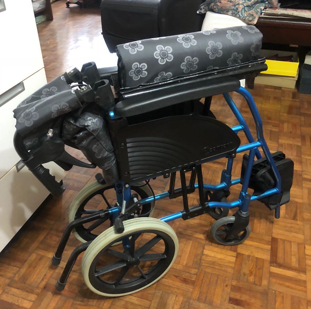 可摺式輪椅