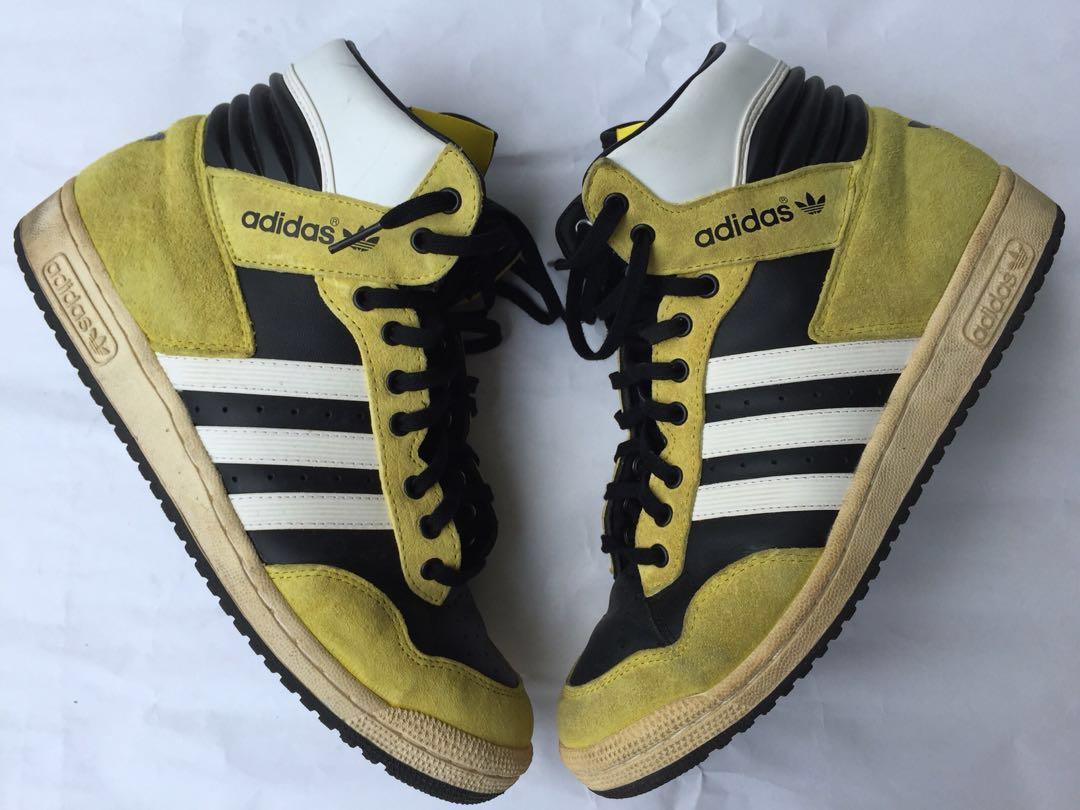 Adidas originali concue en france giallo, moda maschile