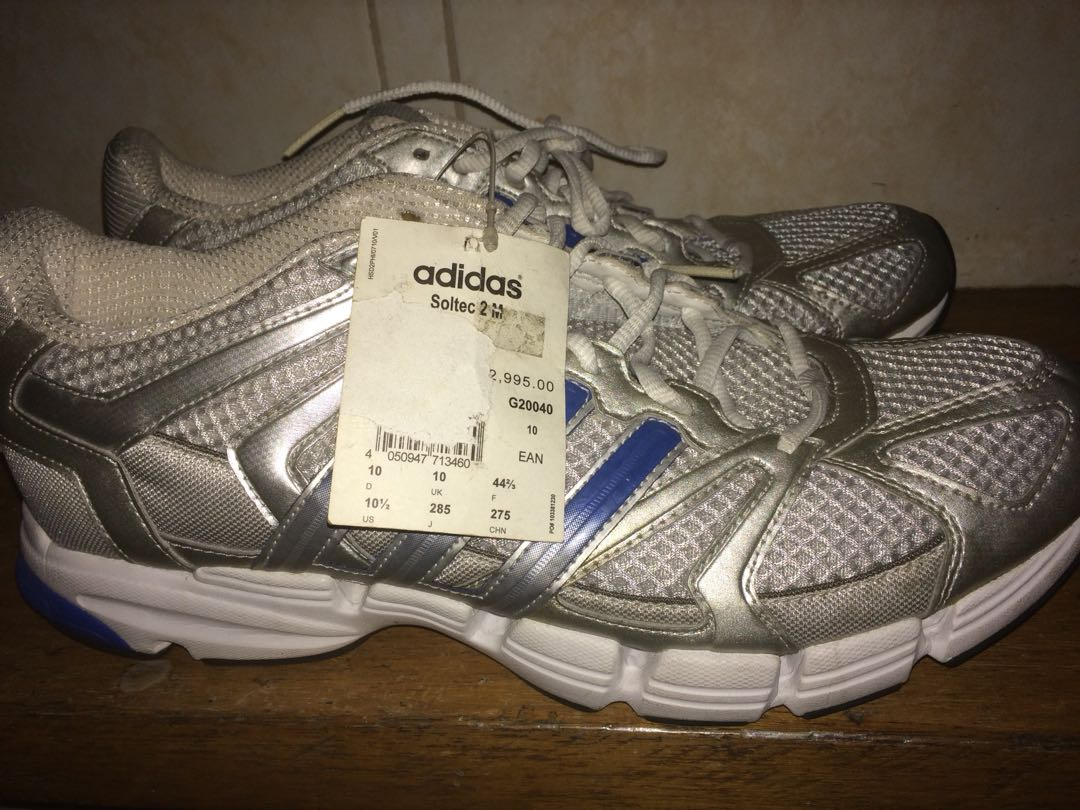 Adidas Soltec running shoes on Carousell