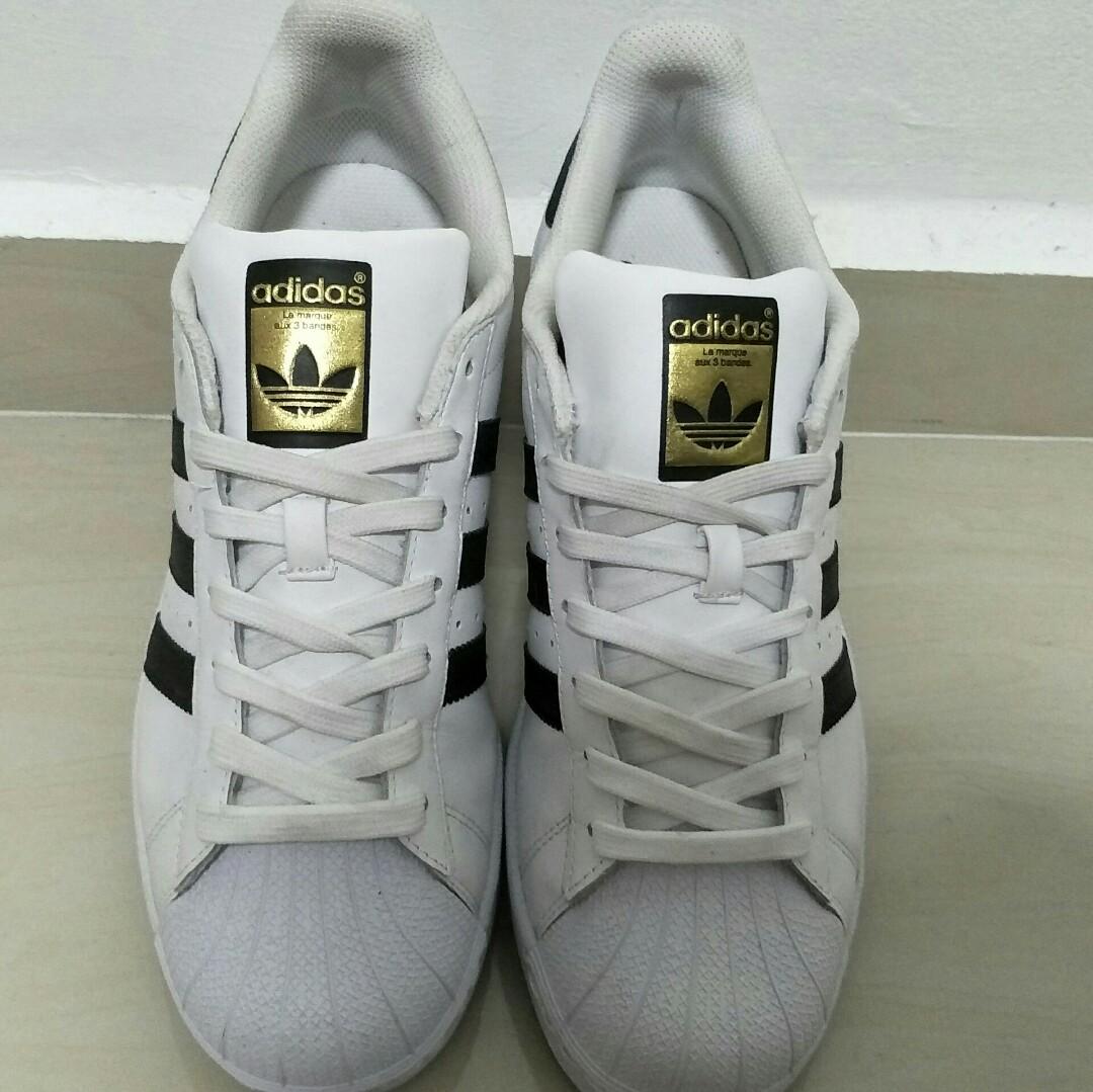 Adidas Superstar Original Mens Fashion Footwear On Carousell