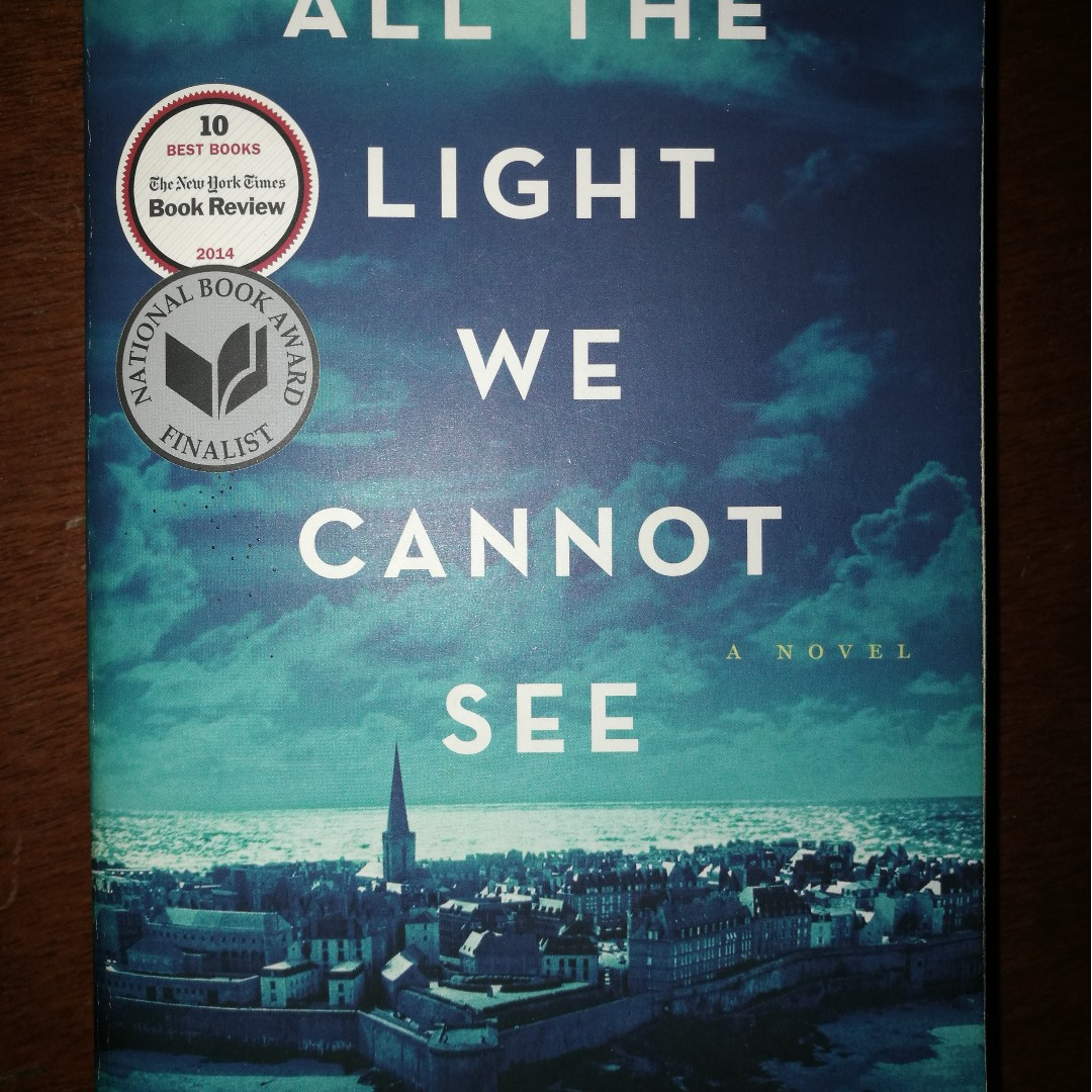 Awesome All The Light We Cannot See By... All The Light We Cannot See By Anthony  Doerr, Books, Books On Carousell Design Inspirations