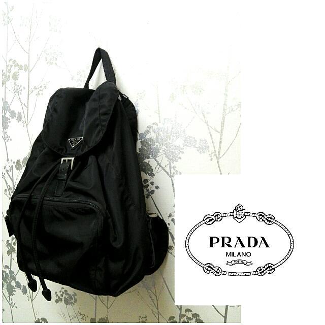b34261dc07f9 Authentic Prada Milano Backpack