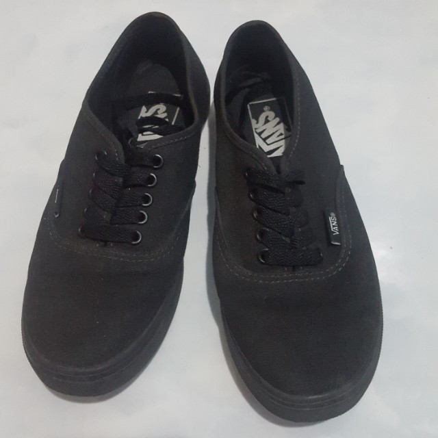 0250a95cfe59 Authentic VANS OFF THE WALL (black)