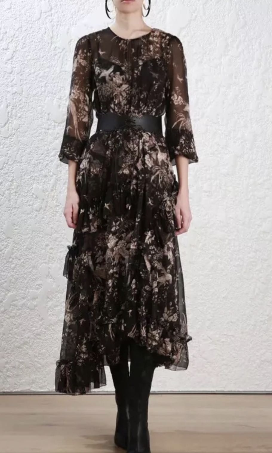 e5331b44dfa Authentic Zimmermann Maples Feathery Dress (SOLD OUT)