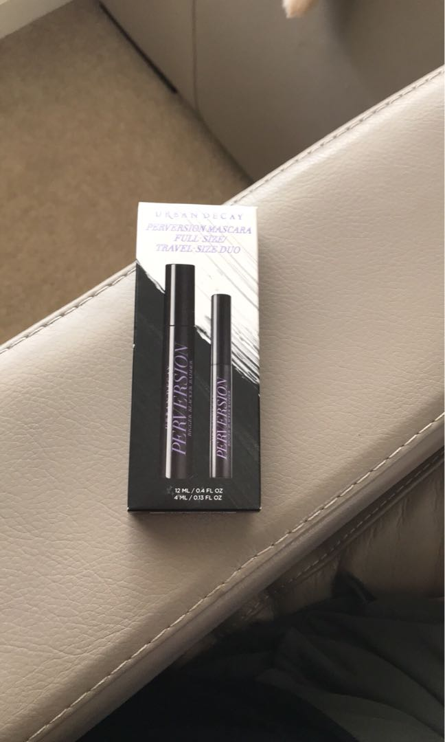 BRAND NEW Urban Decay Per*ersion Mascara Full Size (12ml) + Travel (4ml)
