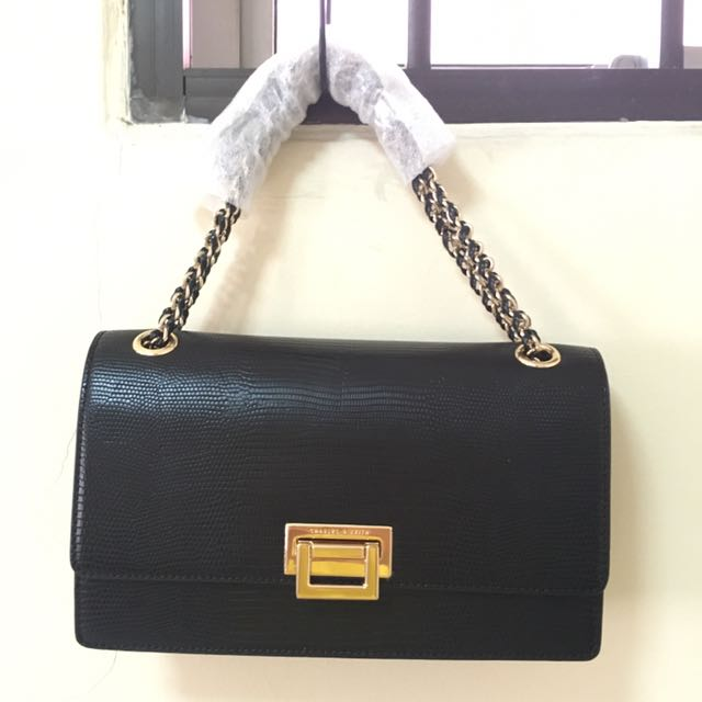 Charles And Keith Chain Bag Women S Fashion Bags Wallets On