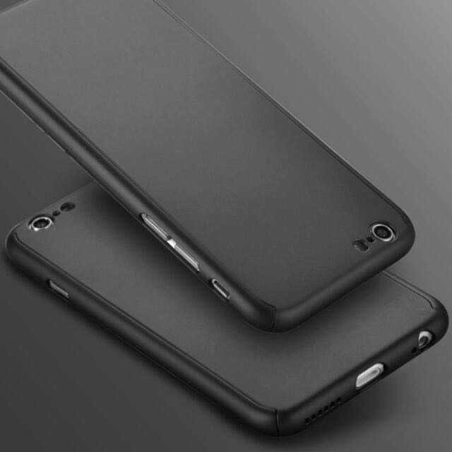 CLEARANCE SALE! Iphone6 Iphone6s Iphone 6 Plus Iphone 6s Plus Latest 360 Degrees Casing 360 Casing For IPhone 6/6Plus/6S/6SPlus Front And Back Case With Clear Temper Glass Screen Protector