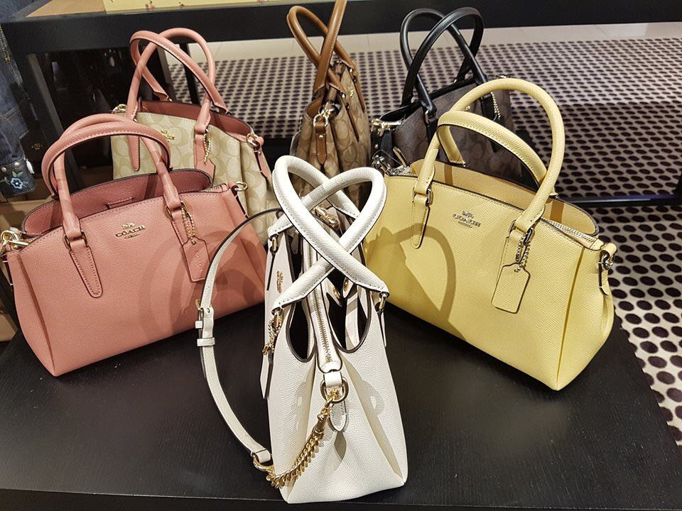 e7820898e72b Coach mother s day new arrival Sage carryall