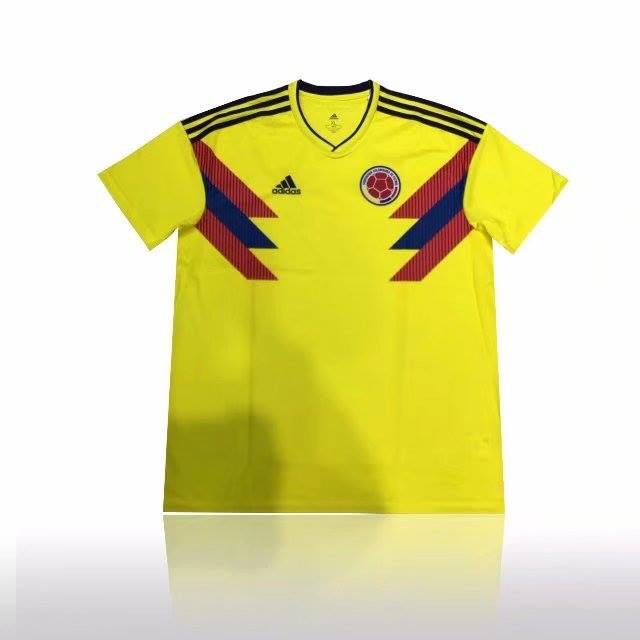 dffb6f5c23e Colombia World Cup jersey, Sports, Sports Apparel on Carousell