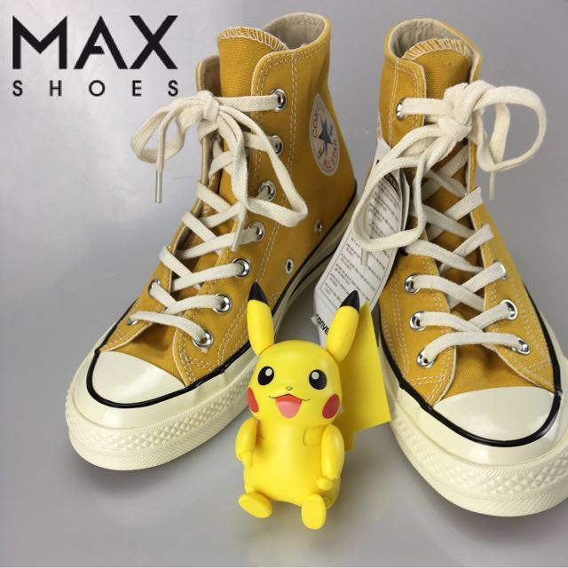 9016f4c99d8d84 Converse 1970s Yellow 70s chuck taylor all star canvas sneakers 1970 ...