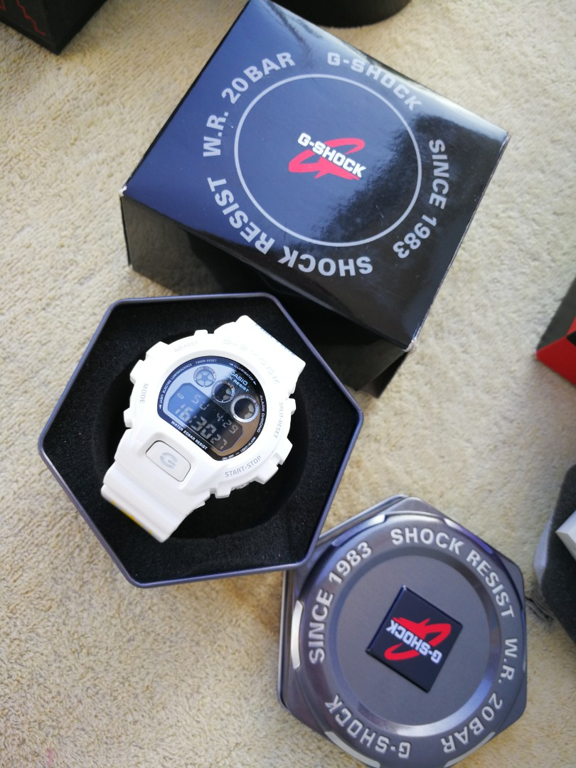 Dw 6900nb 7dr Gshock Shock The World Manila Release Mens Fashion Casio G Watches On Carousell