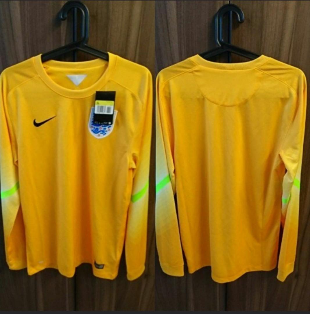 d1cfb1e198 England 2014 Nike Yellow Goalkeepers Kits