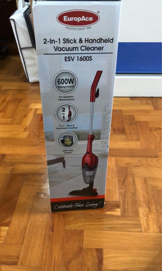 Europace: 2-in-1 Stick !#!amp!*! Handheld Vacuum Cleaner