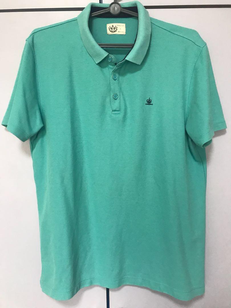 6ead2015 G2000 Light Green Polo Shirt, Men's Fashion, Clothes on Carousell