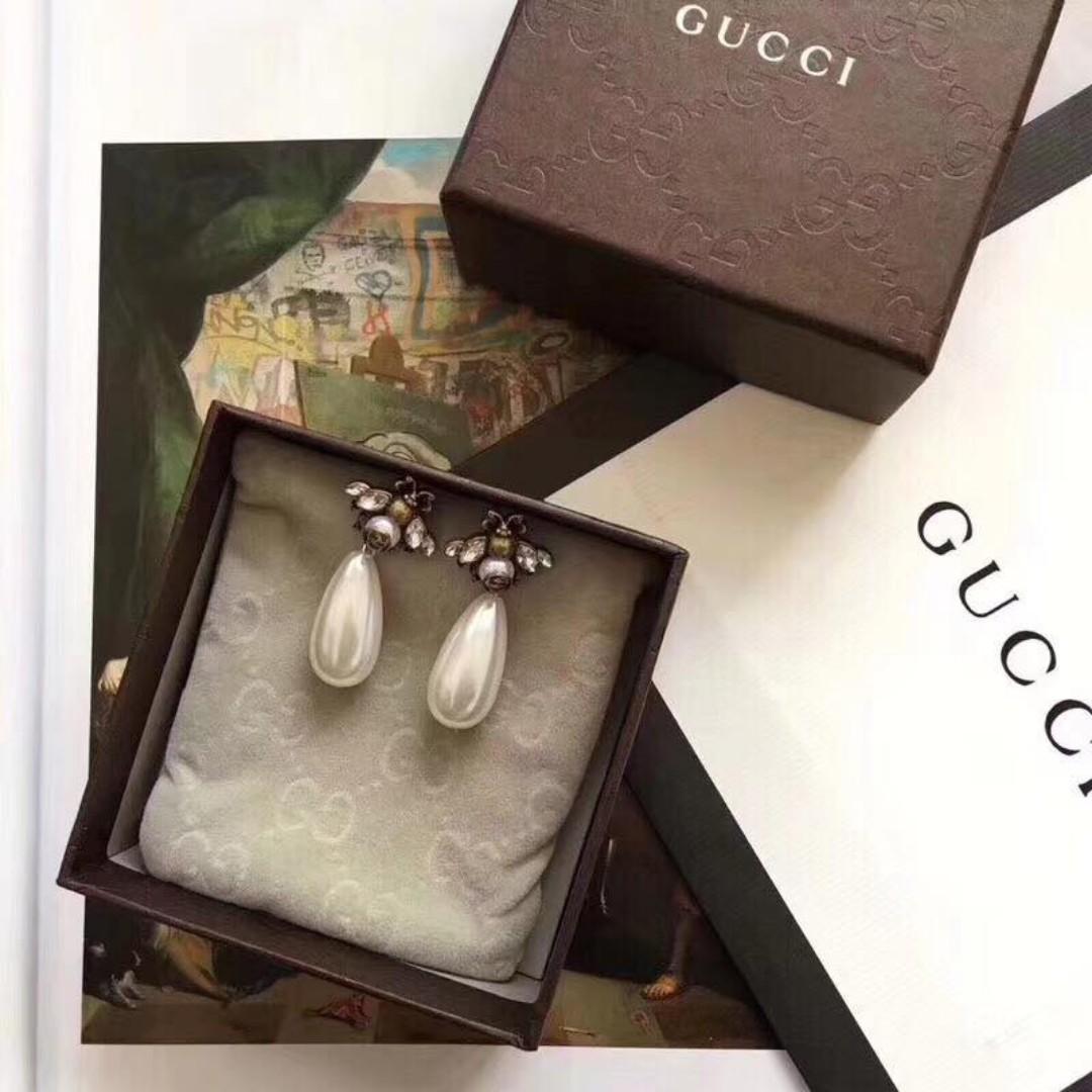 4f1e68531 Gucci Earrings High Quality 14-19 1450, Preloved Women's Fashion ...