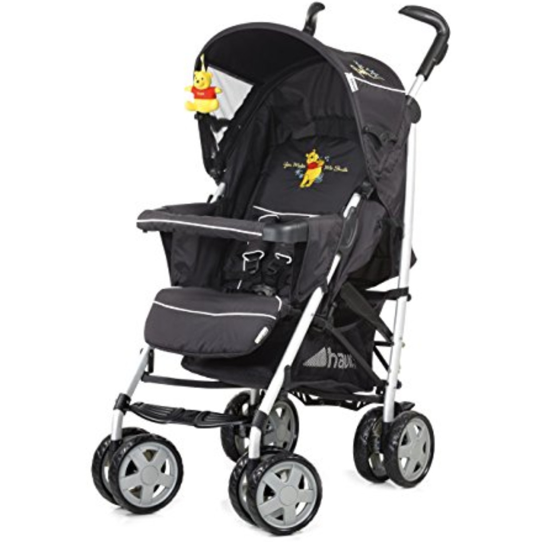 Hauck Disney Travel System Winnie The Pooh Stroller Feeding Chair Car Seat Multi Purpose USED Babies Kids Strollers Bags Carriers On Carousell