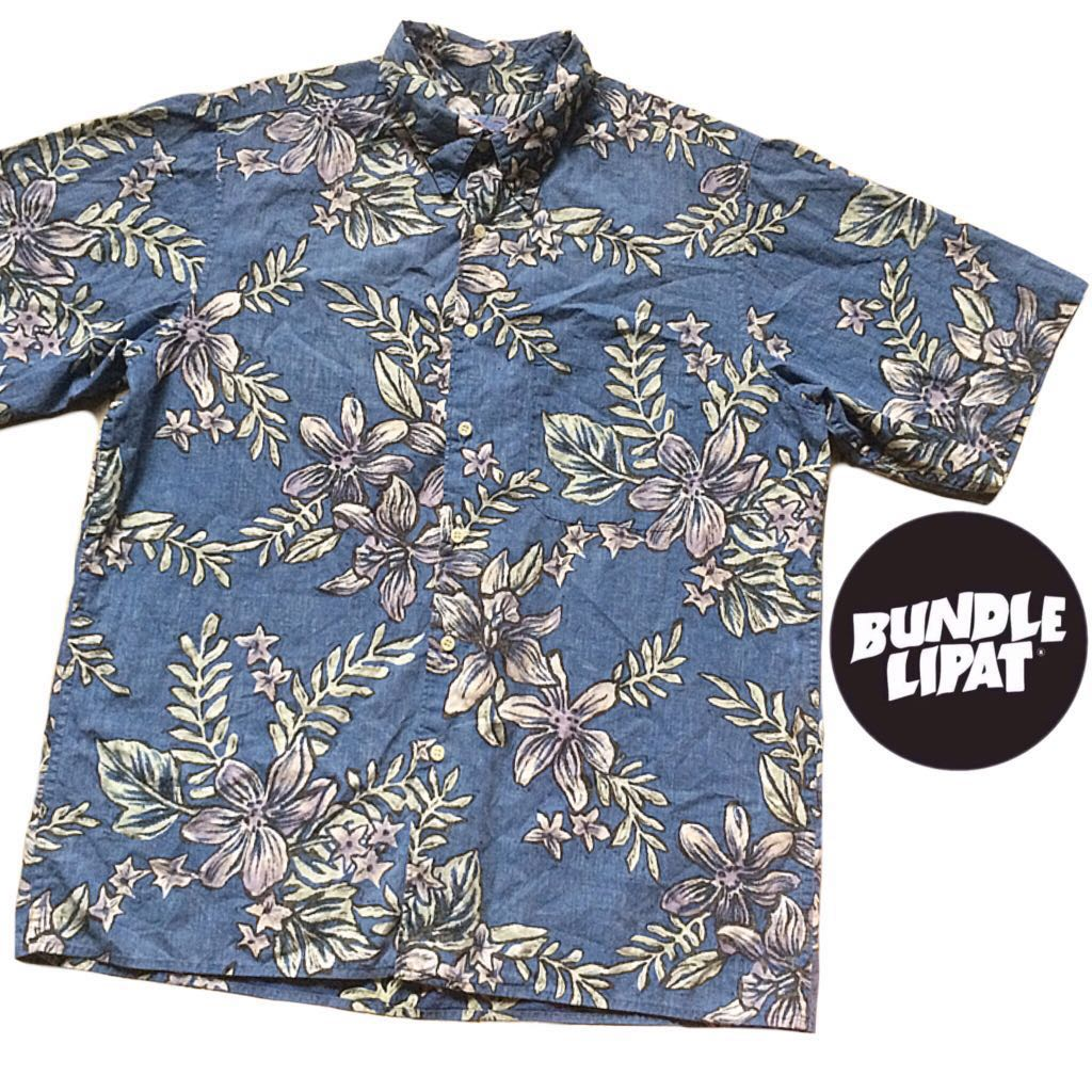 2a079c73 Hawaiian Shirt Reyn Spooner Size L, Men's Fashion, Clothes, Tops on ...